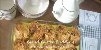 Bread Butter Pudding by Dhani R Satyadharma