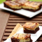 Marble Cheese Brownies by Evia Nugrahani