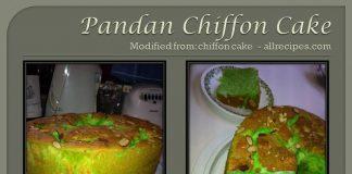 Pandan Chiffon Cake by Janni Wirakusumah Morales