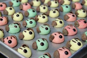 colorfull doggy milo cookies