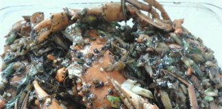Kepiting Lada Hitam by Arik Handayani Gunawan