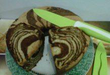 Cake Pisang Doreng Mocca Cokelat by Titiek Es