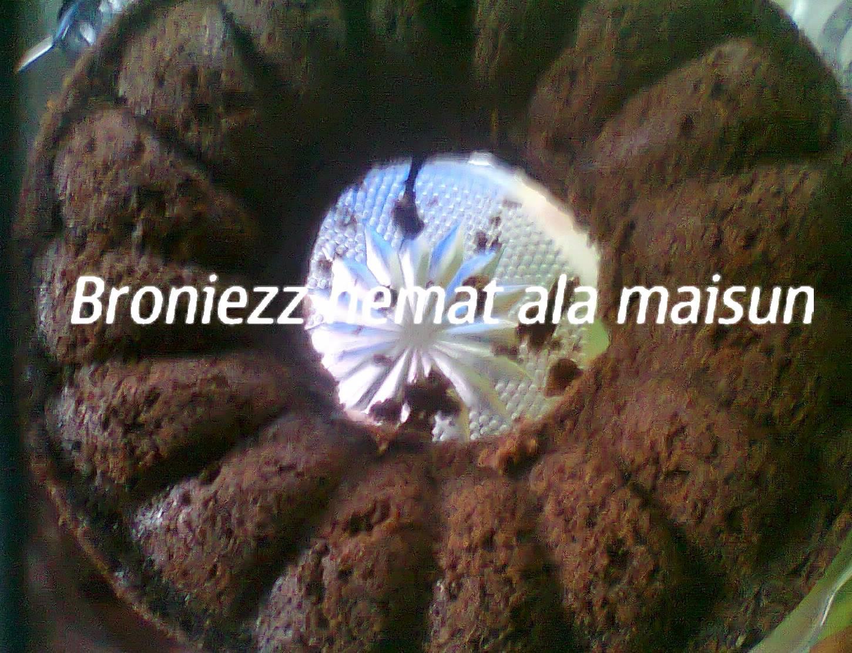 Brownies Hemat by Maisun El Dabo