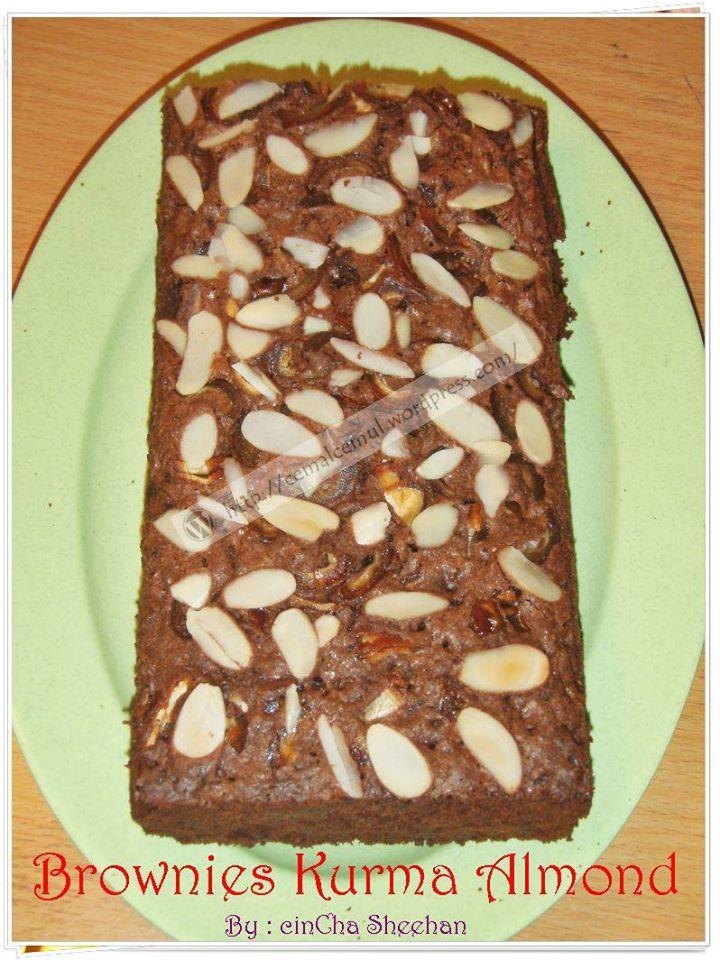 Brownies Kurma Almond by Cincha Sheehan