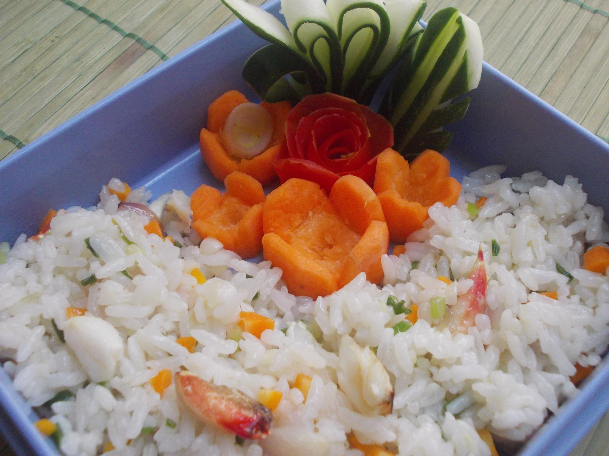 Nasi Goreng Kare Kepiting by Sri Rahayu