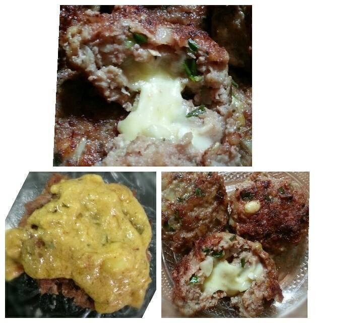 Oriental Cheesy Burger Sauce Mustard by Luthfie Ana