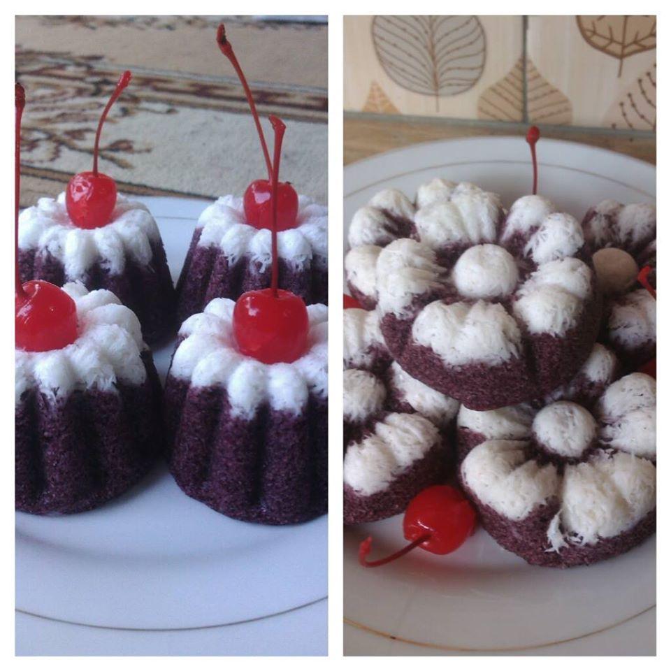Cake Kukus Ketan Hitam by Zahra JasaBoga