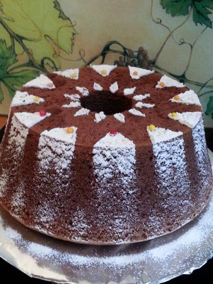 Chiffon Cake Coklat by Vetraini Leroy