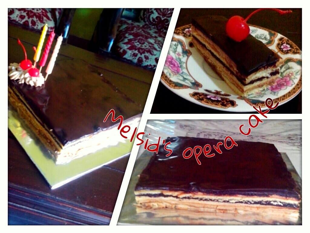 Opera Cake by Melanie Anggraeni