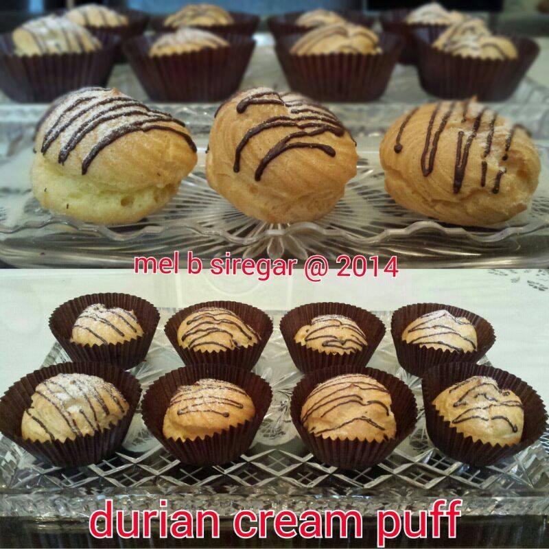 Durian Cream Puff by Mel B Siregar