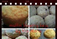 Muffin Blueberry Keju by Maria Handayani