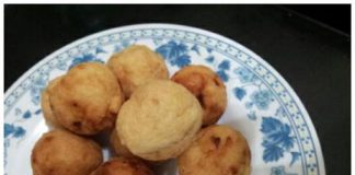 gluten nugget - Bola Tahu by Emma Rumawas