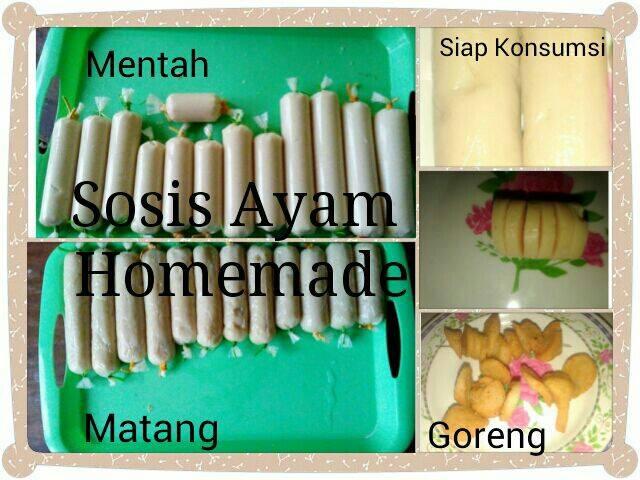 Sosis Ayam Homemade by Rahayu Pra