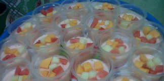 Puding Buah Susu Yogurt by Sofie Myfamily