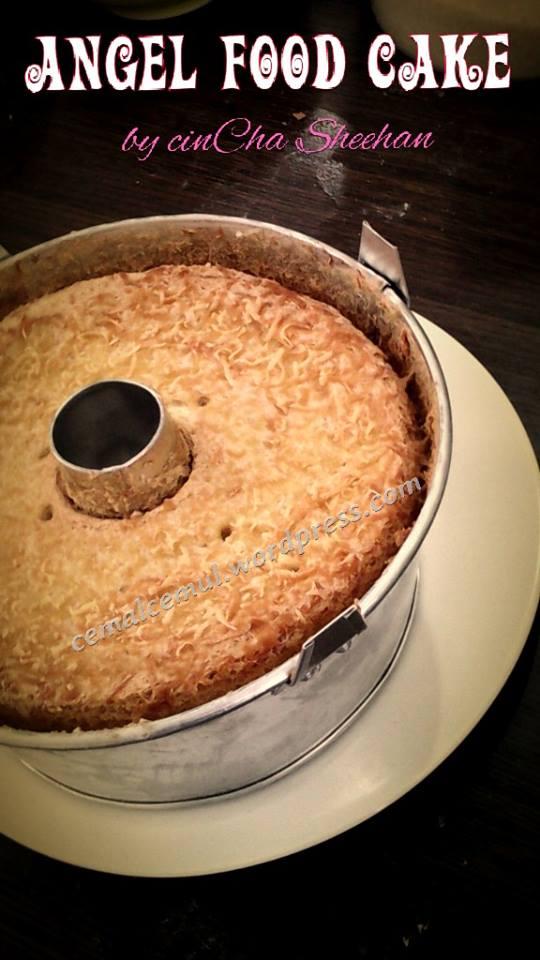 Angel Food Cake with Cheese by cinCha Sheehan