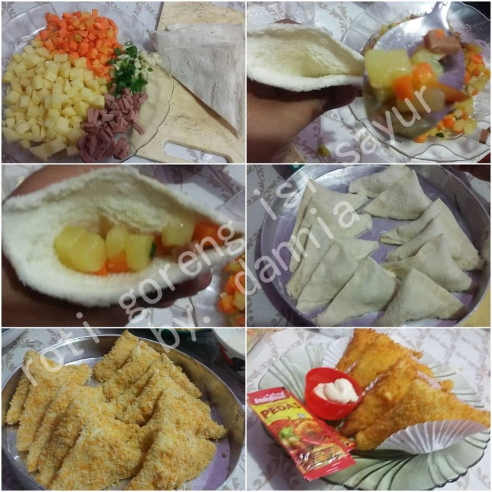 Roti Goreng Isi Sayur by Dania