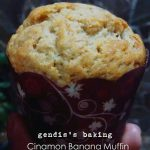Cinnamon Banana Muffin (eggless) by Ndaru Gendis Shinta