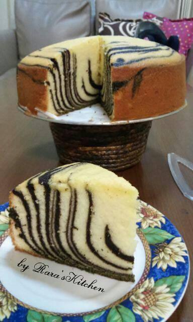 Cake Panggang Putih Telur by Eirlynd Chararaya