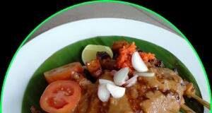 Sate Ayam dan Bumbu Kacang by Catharina Maria