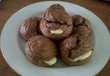Sus Coklat dengan Vla Keju by Yayat Susilawati