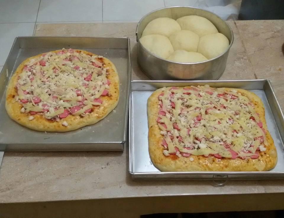 Donat Kentang/Pizza kentang/Roti Sobek Kentang by Nia Syifa