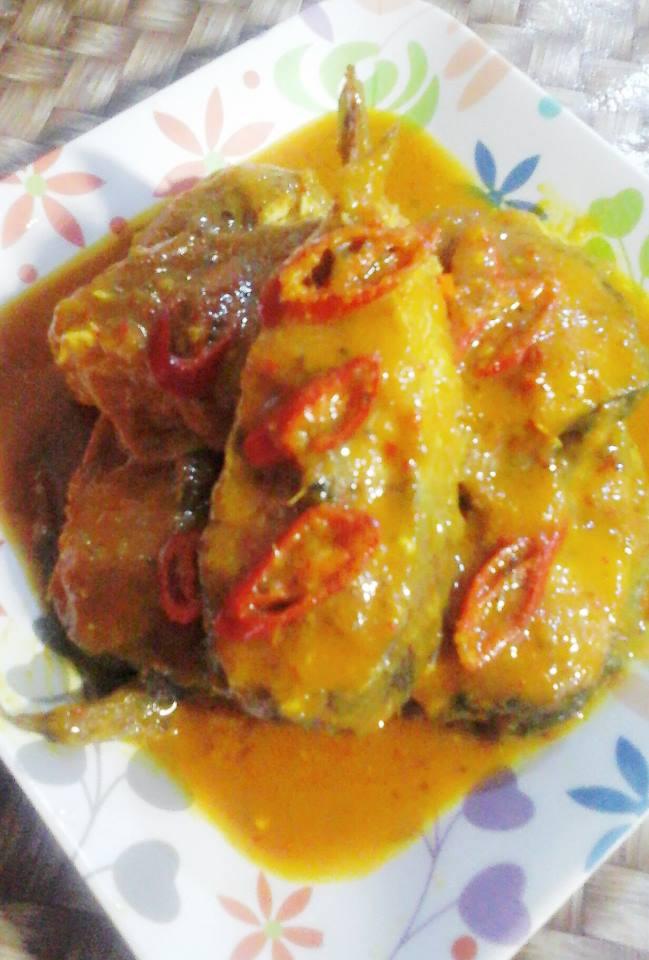 Gulai Tempoyak Ikan Patin by Dewi Sartika