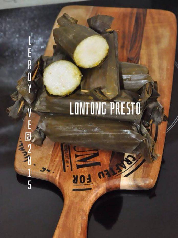 Lontong Praktis Presto by Vetrarini Leroy