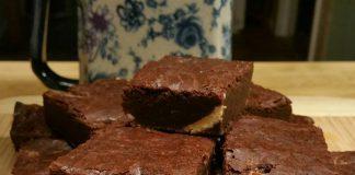White chocolate filling brownies Modifikasi by Happy Kusuma Eller