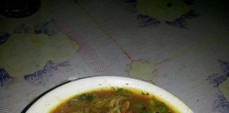 Bubur Pedas ala Dapur Bunda Azka by Vie Orshanty