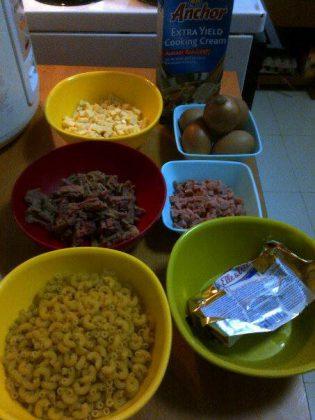 bahan Macaroni Schotel by Yayat Susilawati