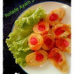 Rolade Ayam Sosis by Evie Jello Art