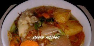 Sup Kaki Sapi by Alif Kusuma