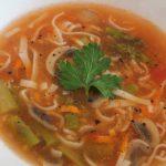 Tomato Asparagus Soup by Shearly Permatasari