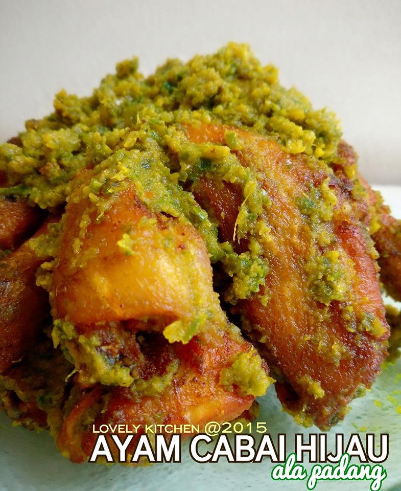Ayam Goreng Kering Cabai Hijau by Maria Magdalena
