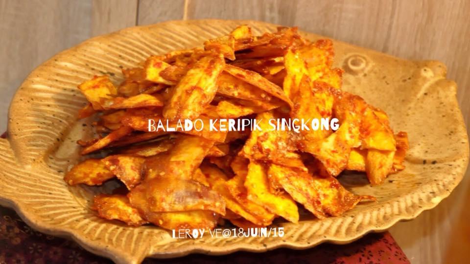 Balado Kripik Singkong by Vetrarini Leroy