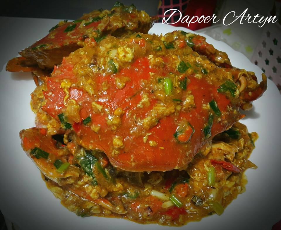 Chili Crab (kepiting lumpur) by Ainie Dihati Adji