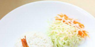 Ebi Furai (+Chicken Egg Roll+Beef Teriyaki+Simple Salad) by Hyo Febri