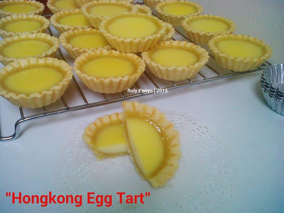 Hong Kong Egg tart by Ruly Ponyo