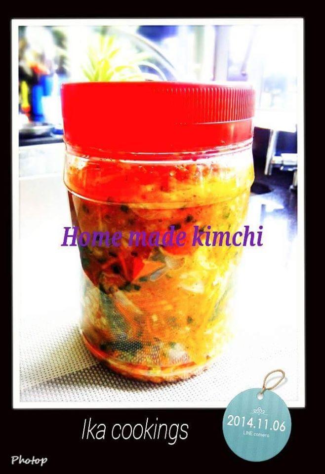 Kimchi Korea by Ika Sally