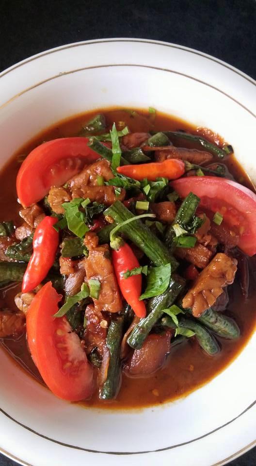 Oseng Oseng Tempe Long Beans By Ley Hoen Yoe