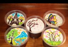 Puding Brownies with Choco Art Topping by Aulia Ikraami