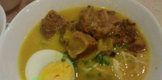 Soto Daging Sapi by Yant Sant Rio