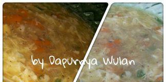 Soup a la Chinese Restaurant by Ayu Wulandari Surbakti