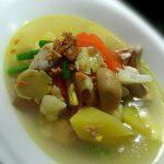 Sup Ayam Jahe dengan Aneka Sayuran by Yudha Indra Pramanto
