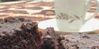 Triple Chocolate Brownies by Ummu Amanda Mayra