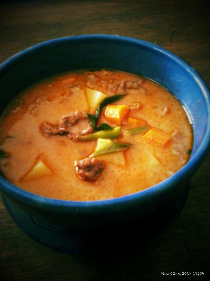 American Nut Red Soup by Sitiborna Veranice