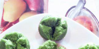 Cake Kukus Oatmeal Pandan by Putri Rara
