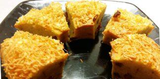 Cake Pisang Kismis Keju by Chen May Liang