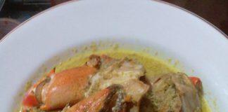 Kepiting Bumbu Kuning by Ita Yung