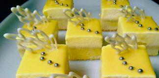 Mango Cheese Mousse by Iranda Indah